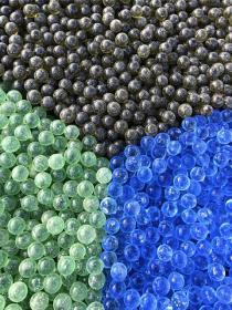 Стеклянные шарики фото
